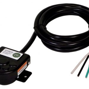 B850-1502 Compact Foot Switch, Cable with Leads, On-Off, Fire Truck Horn, Emergency Vehicle Siren