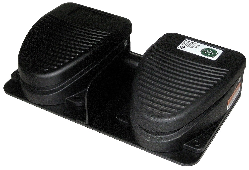 df200  dual-pedal f-series foot switch