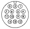 Powcon 14-pin (C880-1425)
