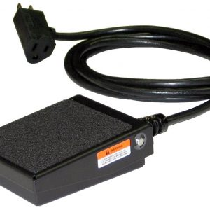 S100-1501 Foot Switch, Momentary Action, Cable with Plug, Grinder Foot Switch, Foot Pedal, T-91-SC3A