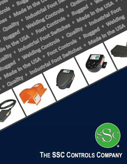 SSC Controls - Foot Switch, TIG Welding, and Foot Pedal Product Catalog