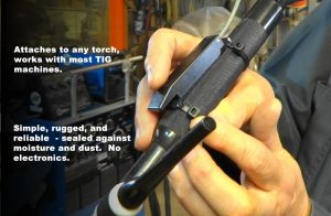 Touch 4 TIG Welding Torch Fingertip Control